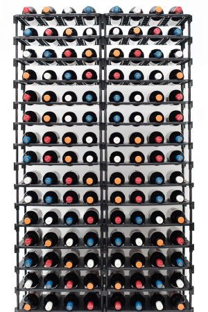 120 Bottle Rack Full