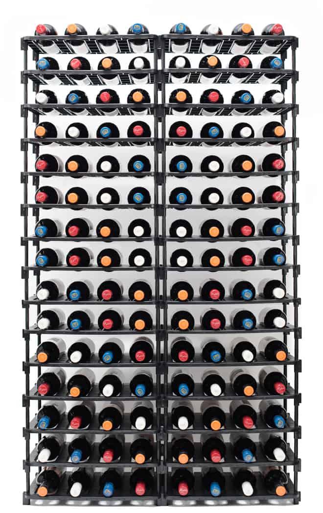 120 Bottle Rack Full
